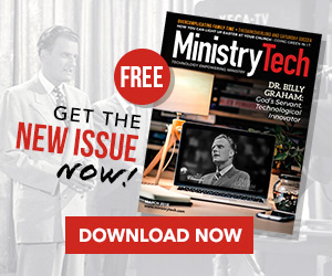 Get your FREE March issue of MinistryTech Magazine!